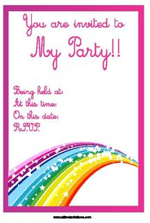 birthday invitations | cool party invitations