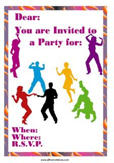 Hollywood Party Invites for nice invitation layout